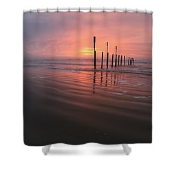 Shower Curtain featuring the photograph Morning Bliss by Sharon Jones