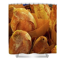 Morning Bread Shower Curtain