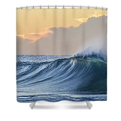 Shower Curtain featuring the photograph Morning Breaks by Az Jackson