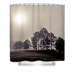 Morning Calm Shower Curtain by Annette Berglund