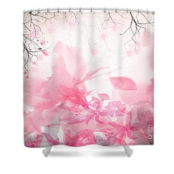 Morning Chirp Shower Curtain by Trilby Cole