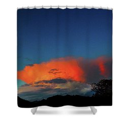 Morning Clouds Shower Curtain by Mark Blauhoefer