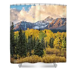 Morning Clouds, Wilson Peak Shower Curtain