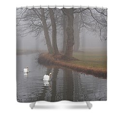 Morning Cruise Shower Curtain