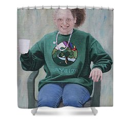 Morning Cuppa Shower Curtain