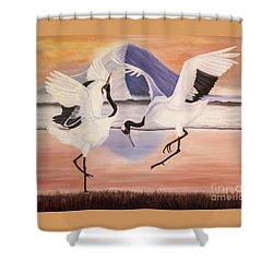 Morning Dance Shower Curtain