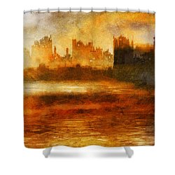 Morning Effect Shower Curtain