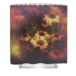 Morning Fire - Fierce Flower Beauty Shower Curtain