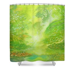 Morning Flora Shower Curtain