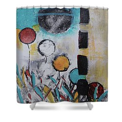 Morning Flowers Shower Curtain