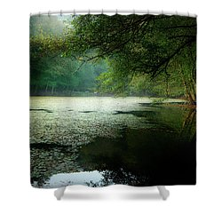 Shower Curtain featuring the photograph Morning Fog by Okan YILMAZ
