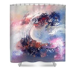 Morning Glory 110 Shower Curtain