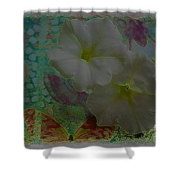 Morning Glory Fantasy Shower Curtain