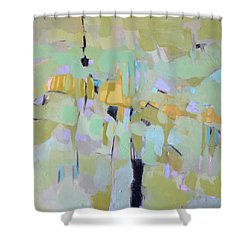 Morning Glory Shower Curtain by Filomena Booth