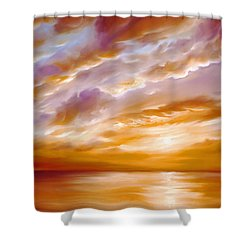 Morning Grace Shower Curtain by James Christopher Hill
