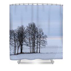 Morning Grace Shower Curtain