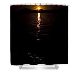 Morning Has Broken Shower Curtain by Tamyra Ayles