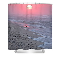 Shower Curtain featuring the photograph Morning Haze by  Newwwman