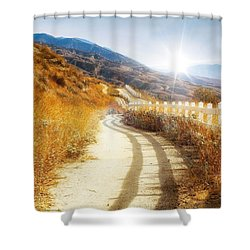 Morning Hike Shower Curtain