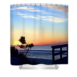 Morning I I Shower Curtain by  Newwwman