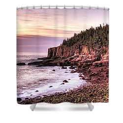 Morning In Acadia Shower Curtain