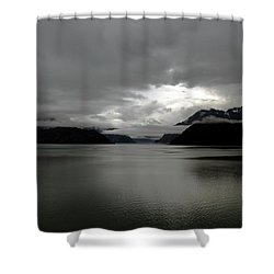 Morning In Alaska Shower Curtain