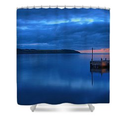 Morning In Cape Breton Shower Curtain by Joe  Ng