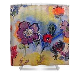 Morning In It's Glory  Shower Curtain