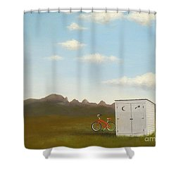 Morning In Montana Shower Curtain