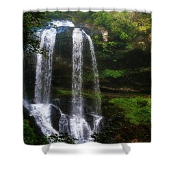Morning In The Mist Shower Curtain