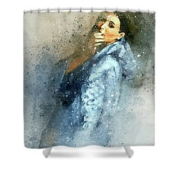 Morning Kiss-8 Shower Curtain
