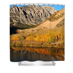 Morning Light At North Lake In The Eastern Sierras Shower Curtain