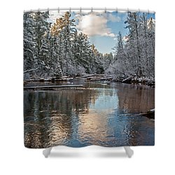 Morning Light On Grand Marais Creek Shower Curtain