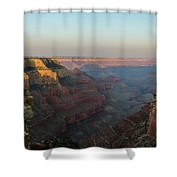 Morning Lights Wotans Throne Shower Curtain