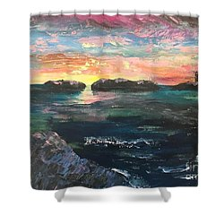 Morning Maine Shower Curtain