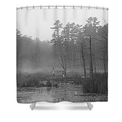Morning Marsh Shower Curtain