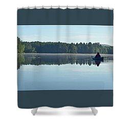 Morning Meeting Shower Curtain by Joy Nichols