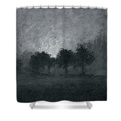 Morning Mist 3 Shower Curtain