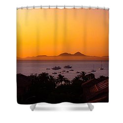 Shower Curtain featuring the photograph Morning Mist by Scott Carruthers