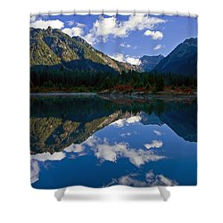 Morning Musings Shower Curtain by Mike  Dawson