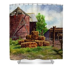 Morning On The Farm Shower Curtain