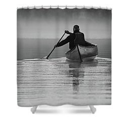 Morning Paddle Shower Curtain