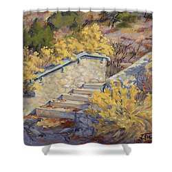 Morning Quail  Shower Curtain