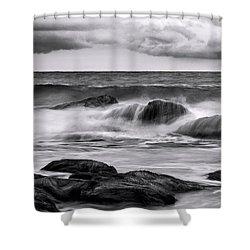 Morning Rage Shower Curtain