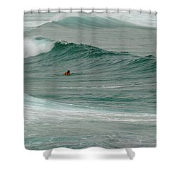 Morning Ride Shower Curtain