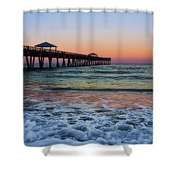 Morning Rush Shower Curtain by Laura Fasulo