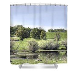 Morning Serenity Shower Curtain
