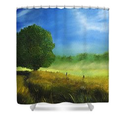 Morning Shade Shower Curtain