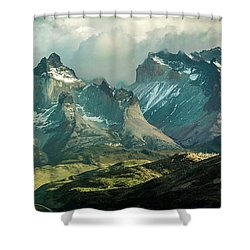 Morning Shadows Shower Curtain by Andrew Matwijec