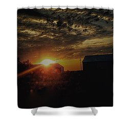 Shower Curtain featuring the photograph Morning Start  by Deborah Klubertanz